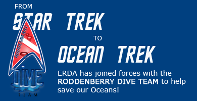 from Star Trek to Ocean Trek we have joined forces with Roddenberry Dive Team